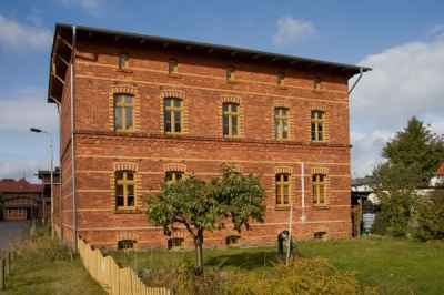 Bahnhaus Usedom Objektansicht