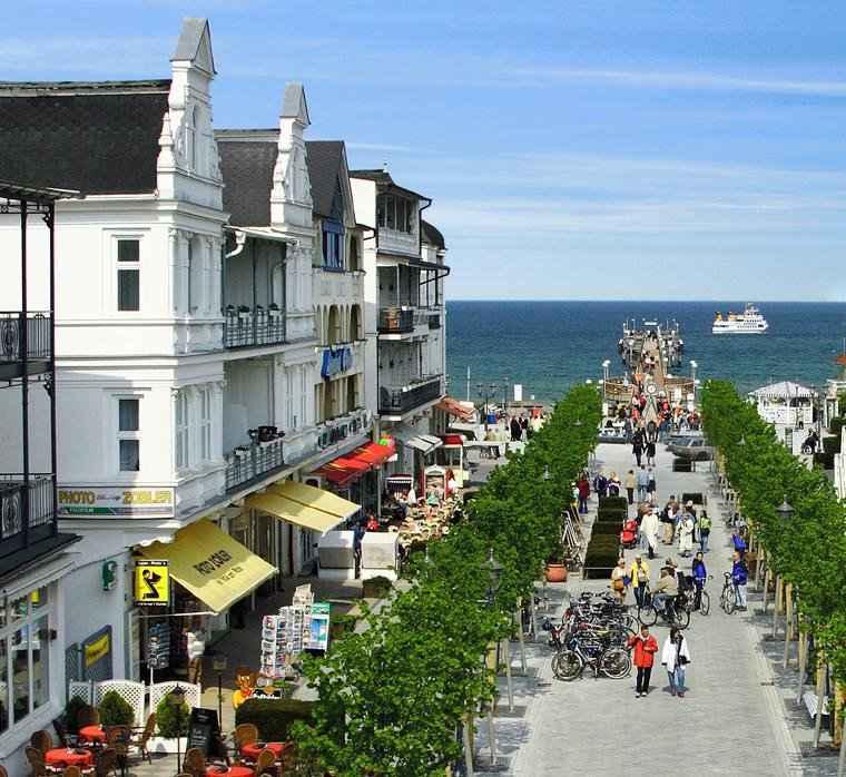 Haus Zobler In Binz Auf Der Insel Rügen