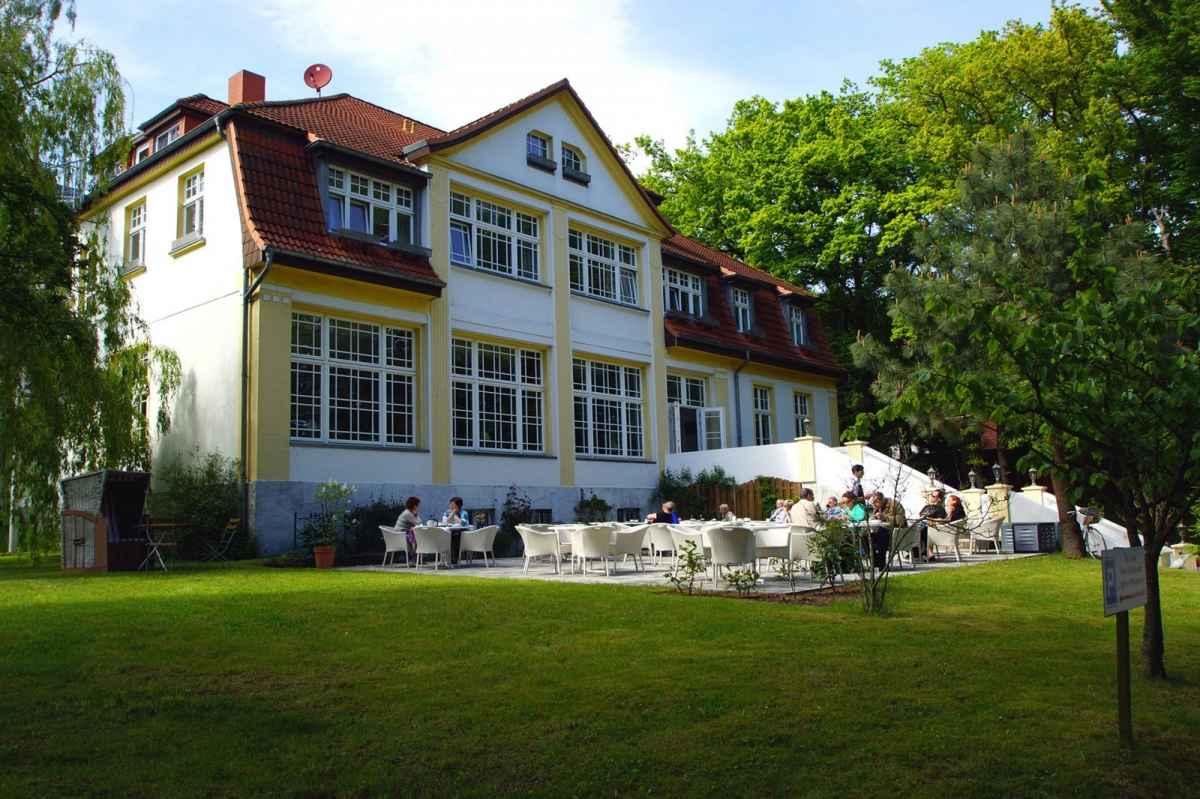 Hotel Idyll am Wolgastsee in Korswandt auf der Insel Usedom