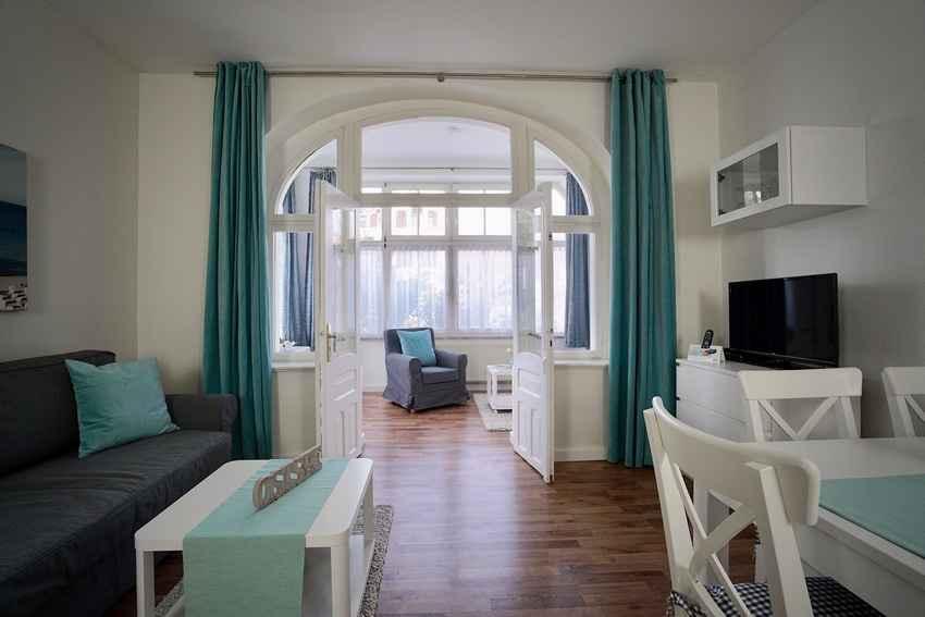 Urlaub in Sellin auf Rügen Haus Arkona Appartement 04